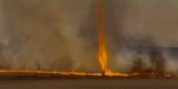 Feuertornado fegt über Brasilien hinweg
