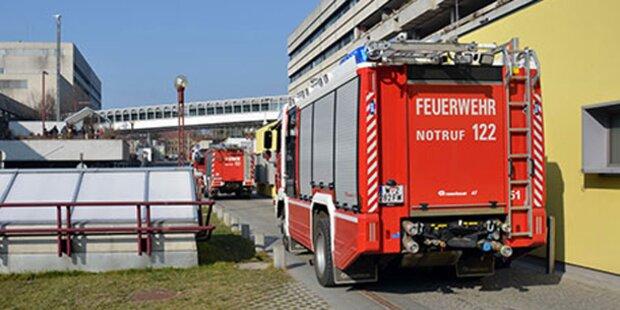 Brand im AKH - 60 Patienten evakuiert