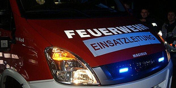 Brände in der Oststeiermark: Drei Verletzte