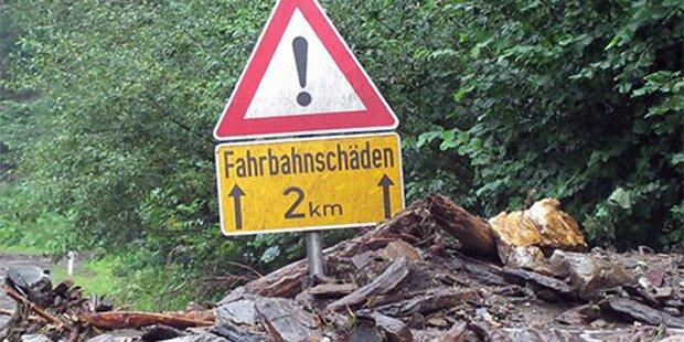 Föhn-Orkan fordert ein Todesopfer