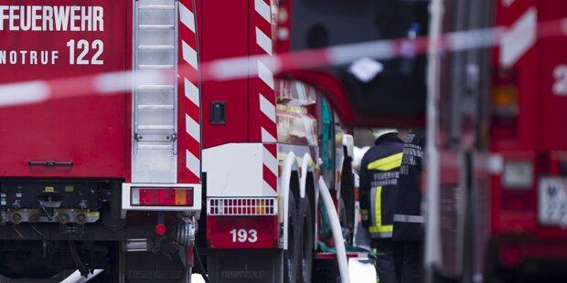 Bauernhofbrand forderte ein Todesopfer