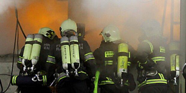 Großbrand im Bezirk Wiener Neustadt