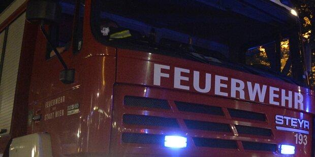 Feuer in Auslage von Wiener Fahrradshop