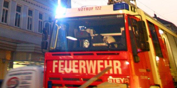 Großbrand in Krems: Rauchwolken über der Stadt