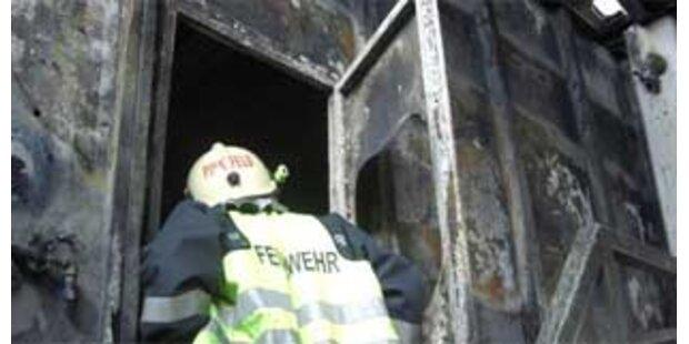 Firma in Mödling brannte lichterloh