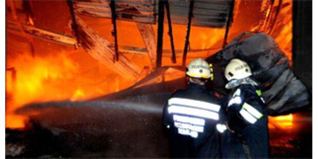 Zwölf Personen nach Brand in Tirol gerettet