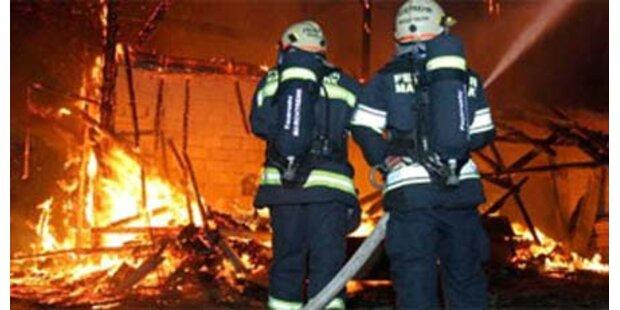 Großbrand in oststeirischer Tischlerei