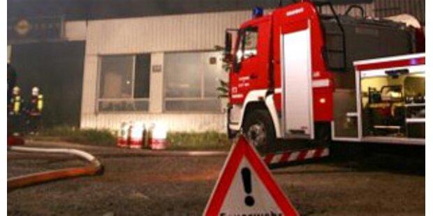 Brand auf Bauernhof forderte zwei Schwerverletzte