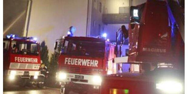 Zwei Verletzte bei Wohnhausbrand in OÖ