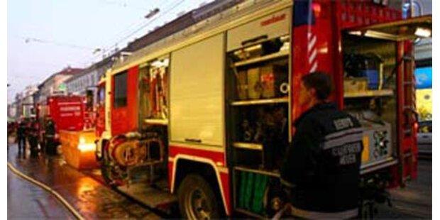 Gasexplosionen in NÖ Gaswerk