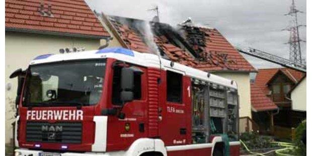 Eine Tote bei Feuer in Seniorenheim