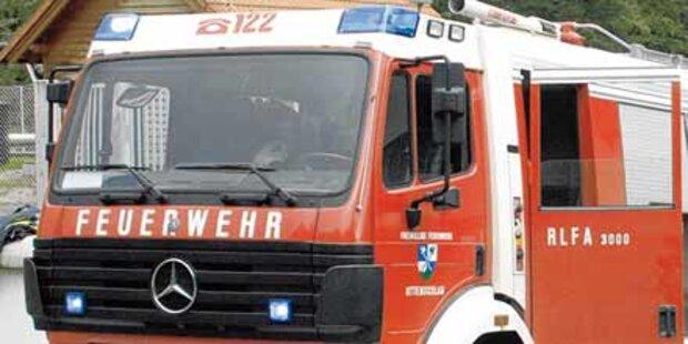 Feuerwehrmann soll Großbrände gelegt haben