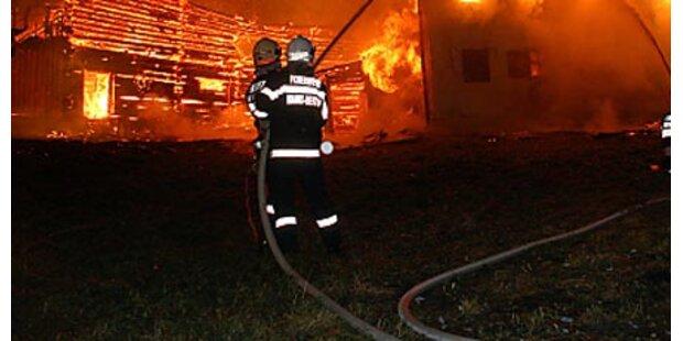 Hotel am Katschberg in Flammen