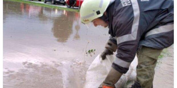 Regen sorgt für Dauereinsatz der Feuerwehr in NÖ