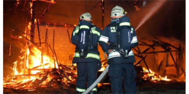 Fataler Brand auf Zwettler Bauernhof