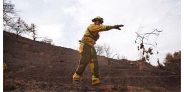 Sechs Brandherde in Kalifornien noch aktiv