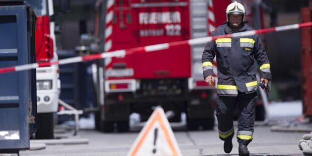 Fünf Feuerwehren bei Flurbrand im Einsatz