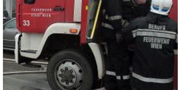 Vier Lkw in Schottergrube ausgebrannt