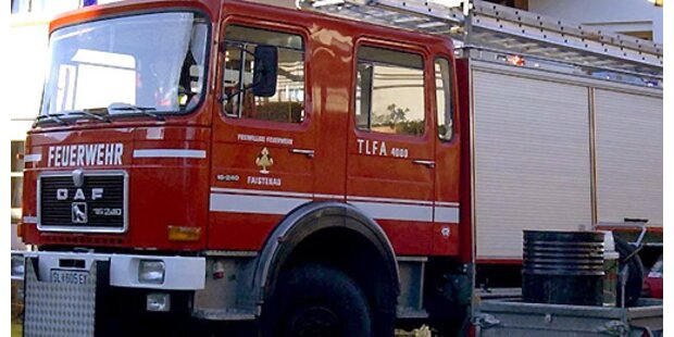 Brand in Einfamilienhaus im Burgenland