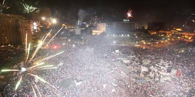 Präsident Mursi gestürzt - Menschen feiern