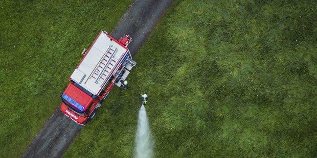 Blitzschlag: Dachstuhl in Vorarlberg fing Feuer
