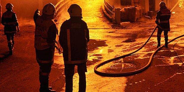 Zwölf Verletzte bei Gasexplosion