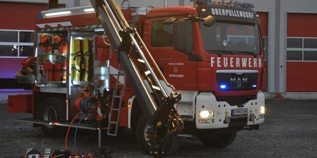 Wohnungsbrand fordert zwei Verletzte