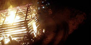 Brandstifter: Dreieinhalb Jahre Haft