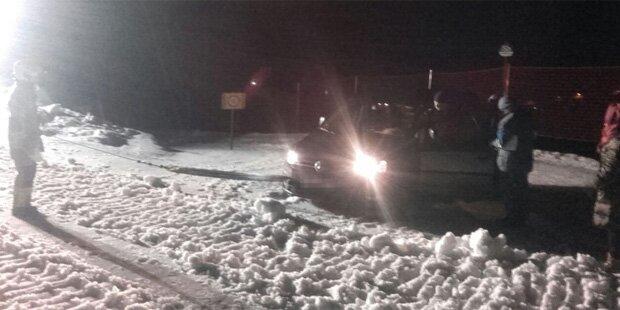 Navi lotst Autofahrer direkt auf Ski-Piste