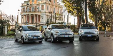 """Fiat rüstet 500X, 500L und """"alten"""" 500 auf"""