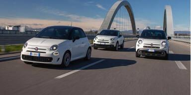 Neue Sondermodelle von Fiat 500, 500X und 500L