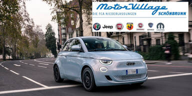 Neuen Fiat 500e ACTION gewinnen