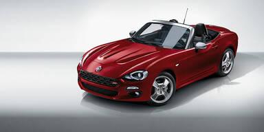 Fiat bringt den 124 Spider Europa