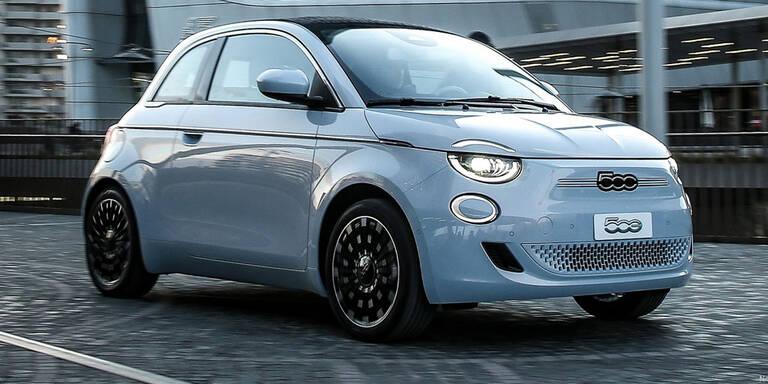 Völlig neuer Fiat 500 ist reines Elektroauto