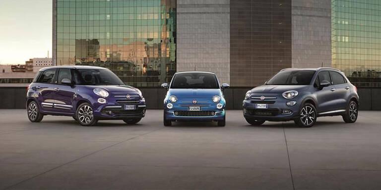 """Fiat bringt 500, 500X und 500L """"Mirror"""""""