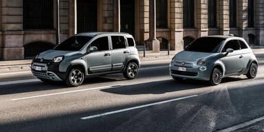 Fiat 500 Hybrid und Panda Hybrid starten