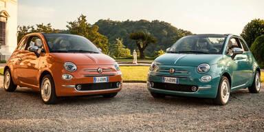 Fiat 500 Anniversario zum 60. Geburtstag