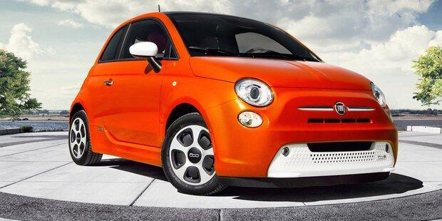 Elektrischer Fiat 500 kommt 2020