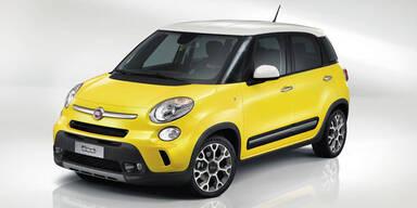 Fiat stellt den 500L Trekking vor
