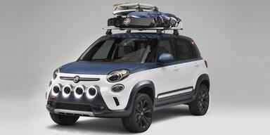 Fiat zeigt den 500L im Surfer-Stil
