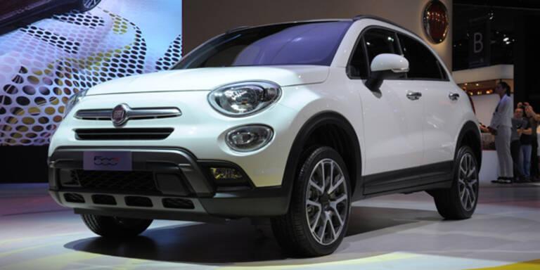 Fiat greift mit dem 500X an