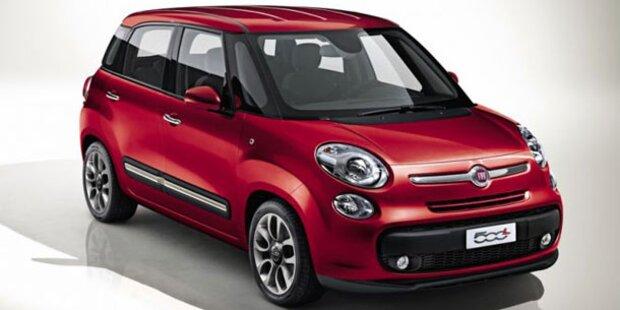 Weltpremiere des neuen Fiat 500L