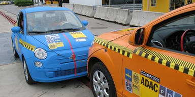 Fiat 500 gegen Audi Q7