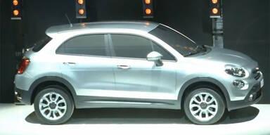 """""""500X"""": Fiat bringt ein SUV auf 500L-Basis"""