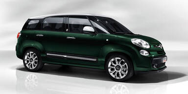 Das ist der Fiat 500L mit bis zu 7 Sitzen