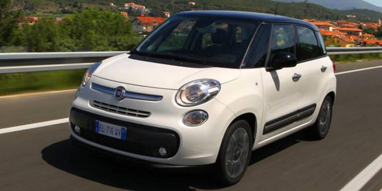 Fiat 500L ab sofort in Österreich erhältlich