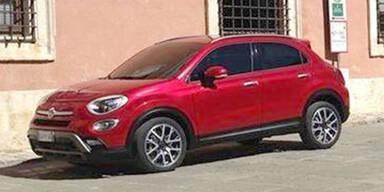 Foto vom Fiat 500X aufgetaucht