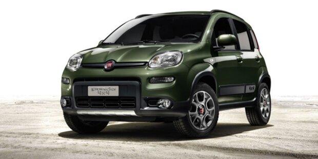 Jetzt kommt der neue Fiat Panda 4x4