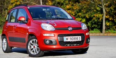 Fiat Panda mit Basismotor im Test