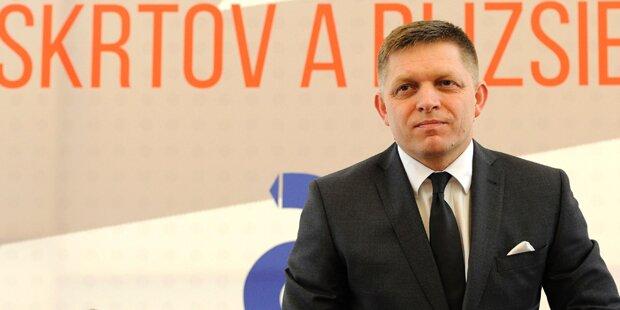 Slowakei stellte neue Grenzbarriere vor